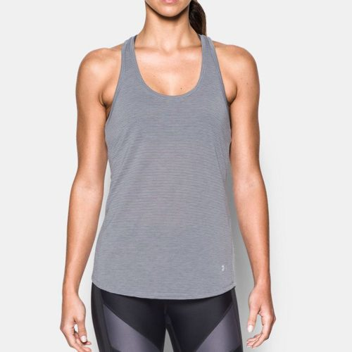 Under Armour Threadborne Mesh Tank: Under Armour Women's Running Apparel