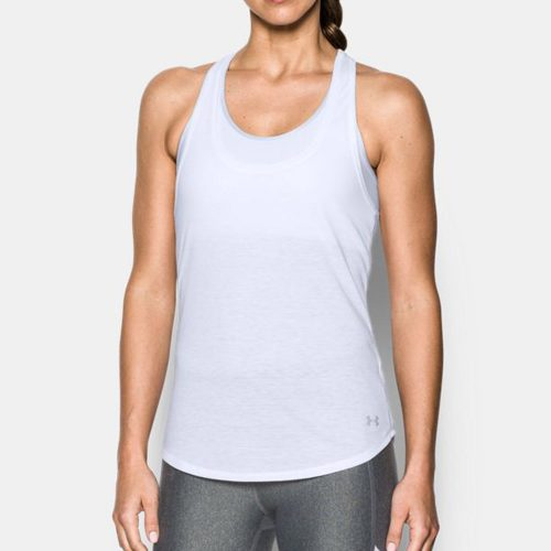 Under Armour Threadborne Run Mesh Tank: Under Armour Women's Running Apparel