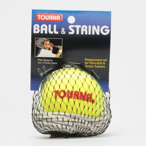 Unique Fill-N-Drill Replacement Ball: Tourna Tennis Training Aids