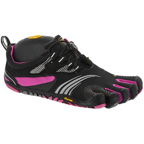 Vibram KMD Sport LS: Vibram FiveFingers Women's Training Shoes Grey/Black/Pink