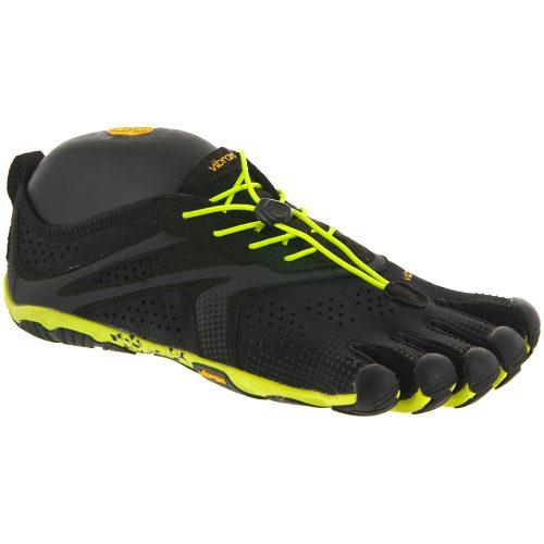 Vibram V-Run: Vibram FiveFingers Men's Running Shoes Black/Yellow