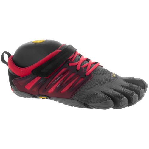 Vibram V-Train: Vibram FiveFingers Men's Training Shoes Grey/Black/Red