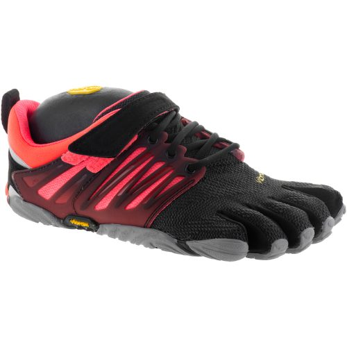 Vibram V-Train: Vibram FiveFingers Women's Training Shoes Black/Coral/Grey
