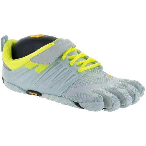 Vibram V-Train: Vibram FiveFingers Women's Training Shoes Pale Blue/Safety Yellow
