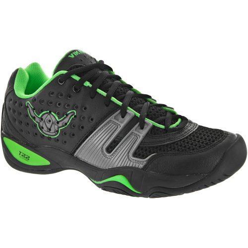 Viking T22: Viking Men's Platform Tennis Shoes Black/Green