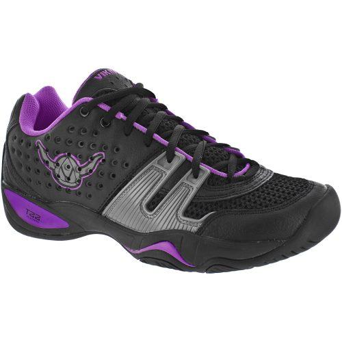 Viking T22: Viking Women's Platform Tennis Shoes Black/Purple