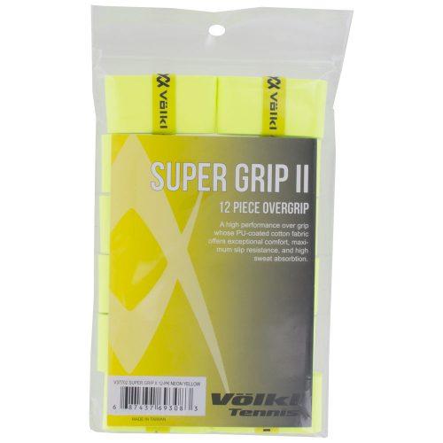Volkl Super Grip II 12 Pack: Volkl Tennis Overgrips