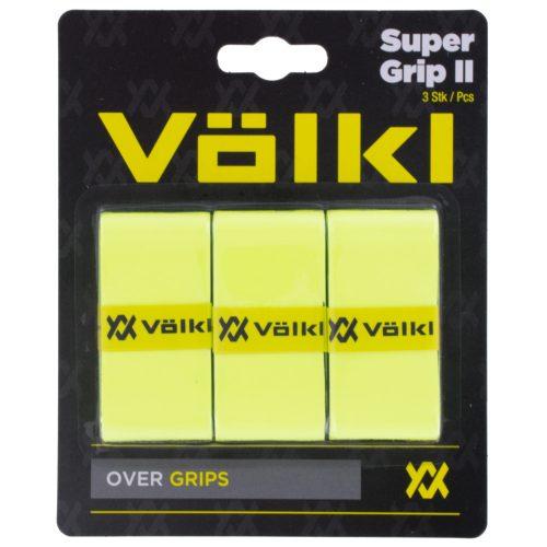 Volkl Super Grip II Overgrip 3 Pack: Volkl Tennis Overgrips