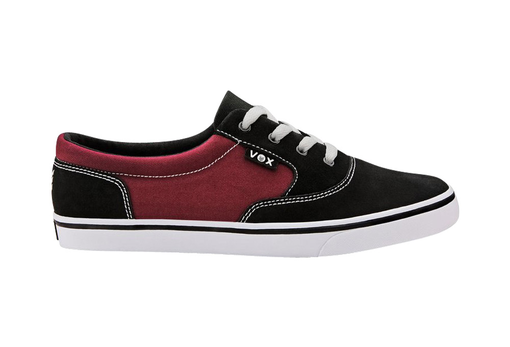 Vox Kruzer Shoes - Men's - black maroon, 8