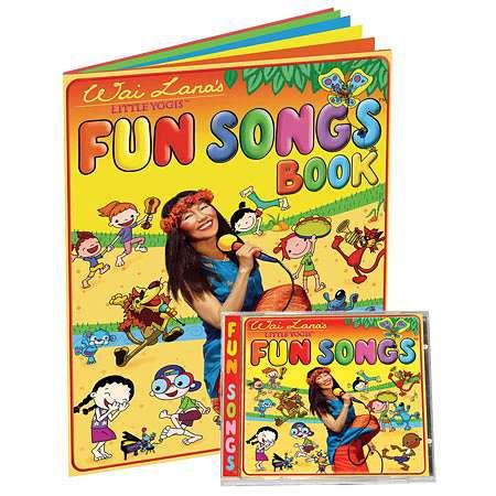 Wai Lana Little Yogis Fun Songs CD & Lyrics Book - 1 ea.