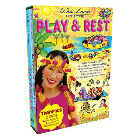 Wai Lana Little Yogis Play and Rest DVD Twin Pack - 1 ea.