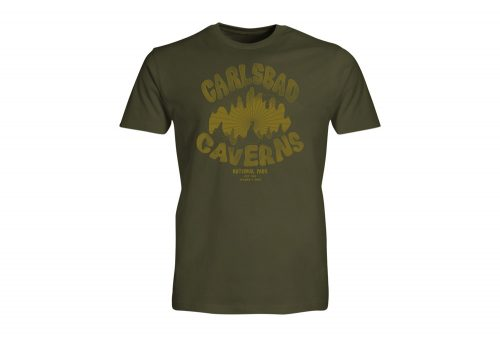 Wilder & Sons Carlsbad Caverns National Park Tee - Men's - military green, small