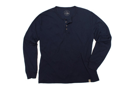 Wilder & Sons Classic Henley Long Sleeve Shirt - Men's