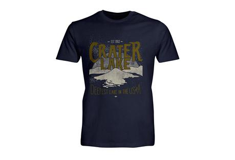 Wilder & Sons Crater Lake National Park Short Sleeve T-Shirt - Men's
