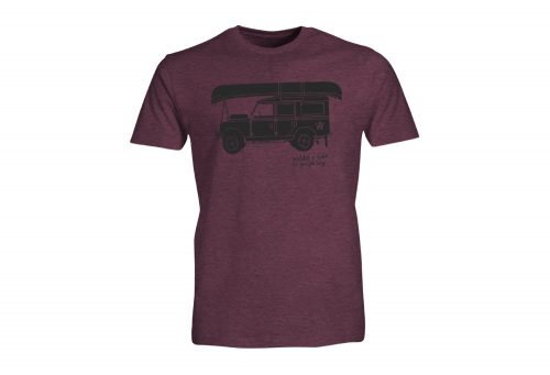 Wilder & Sons Defender - Go Your Own Way Tee - Men's - burgundy heather, small