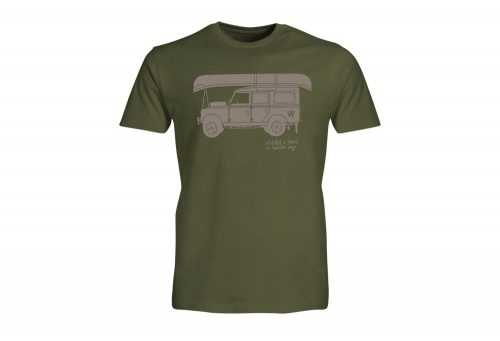 Wilder & Sons Defender - Go Your Own Way Tee - Men's - military green, small