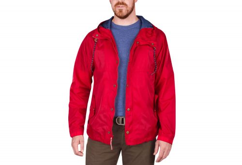 Wilder & Sons Gales Packable Wind Jacket - Men's - red, medium