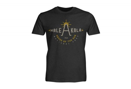 Wilder & Sons Hale Akala National Park Short Sleeve T-Shirt - Men's - charcoal heather, small