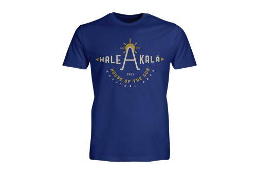 Wilder & Sons Hale Akala National Park Short Sleeve T-Shirt - Men's - royal, small