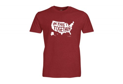 Wilder & Sons In This Together T-Shirt - Men's - cardinal, small