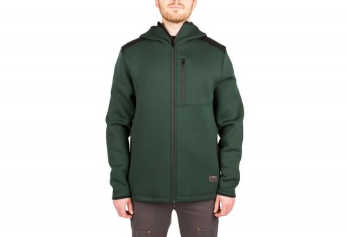 Wilder & Sons Kellogg Tech Hoodie - Men's - dark green, small