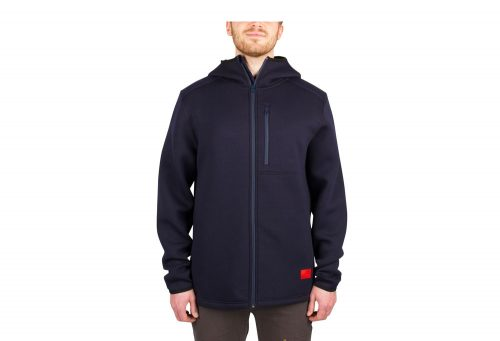 Wilder & Sons Kellogg Tech Hoodie - Men's - navy, small