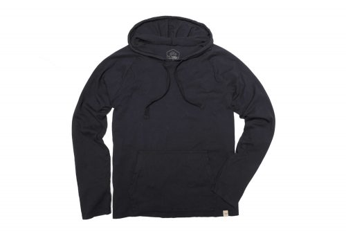 Wilder & Sons Lightweight Hoodie - Men's - black, small