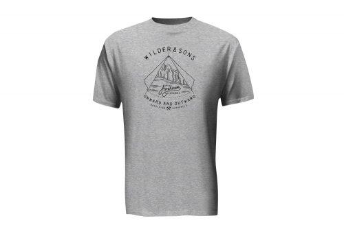 Wilder & Sons Onward & Outward T-Shirt - Men's - black/athletic heather, small