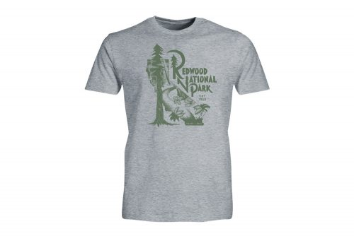 Wilder & Sons Redwood National Park Tee - Men's - athletic heather, small