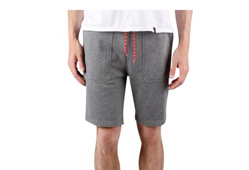 Wilder & Sons Sandy Fleece Shorts - Men's - heather grey, large