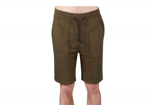 Wilder & Sons Sandy Fleece Shorts - Men's - military olive, xx-large