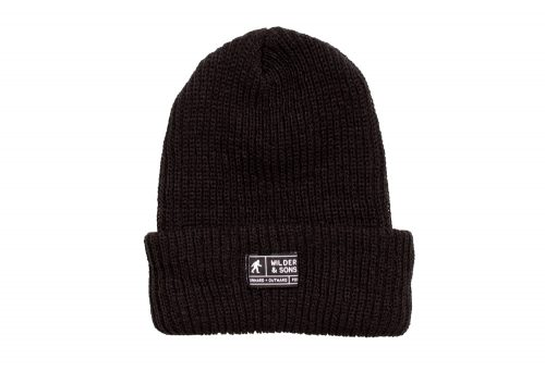 Wilder & Sons Sasquatch Beanie - black, one size
