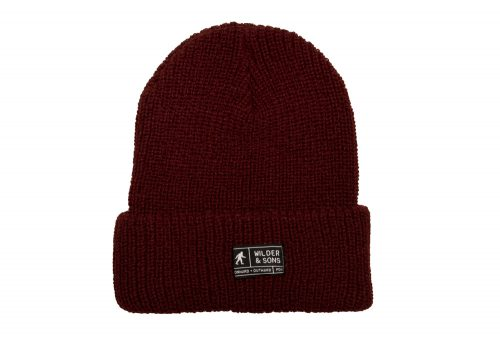 Wilder & Sons Sasquatch Beanie - burgundy, one size