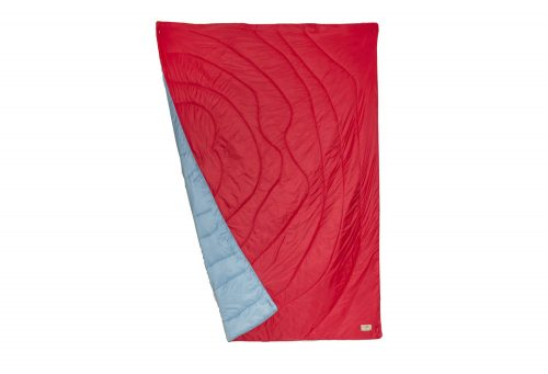 Wilder & Sons Seneca Puffy Blanket - Regular - cherry/no grey days, small