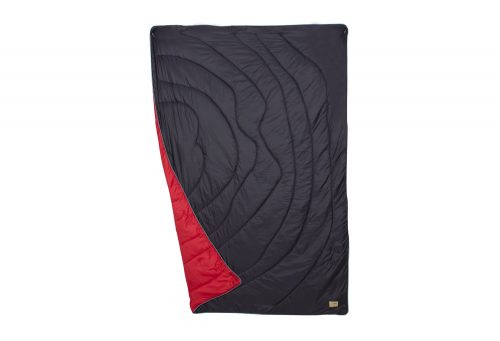 Wilder & Sons Seneca Puffy Blanket - Regular - navy/cherry/no grey days, small