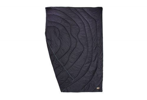 Wilder & Sons Seneca Puffy Blanket - Regular - navy/no grey days, small