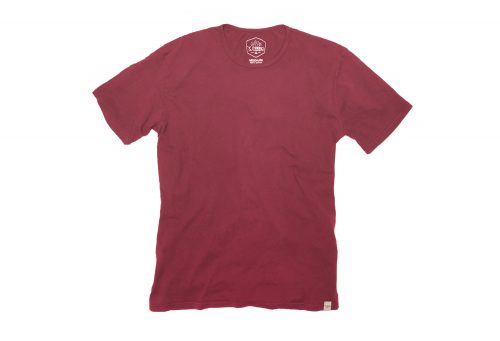 Wilder & Sons Signature Cotton Tee - Men's - burgundy, large