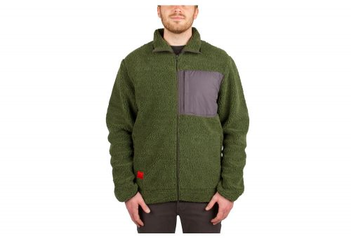 Wilder & Sons Steamboat Sherpa Fleece - Men's - olive, x-large