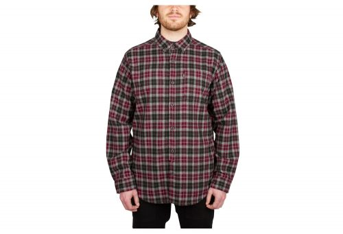 Wilder & Sons Umpqua Flannel - Men's - red, small
