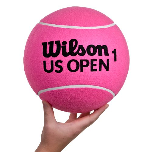 "Wilson 10"" US Open Jumbo Tennis Ball Pink: Wilson Tennis Gifts & Novelties"
