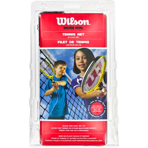 Wilson 20' Tennis Net with 10' Ropes: Wilson Tennis Nets & Accessories