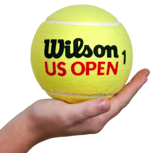 "Wilson 5"" US Open Mini Jumbo Tennis Ball: Wilson Tennis Gifts & Novelties"