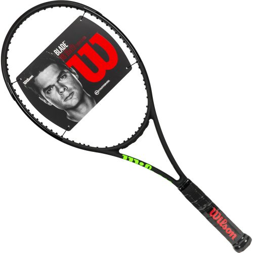Wilson Blade 98 16x19 Countervail Black: Wilson Tennis Racquets