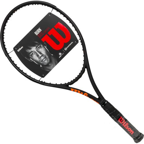 Wilson Burn 100S Countervail Black: Wilson Tennis Racquets