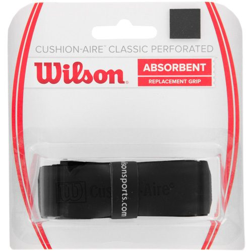 Wilson Cushion-Aire Classic Perforated Replacement Grip: Wilson Tennis Replacet Grips