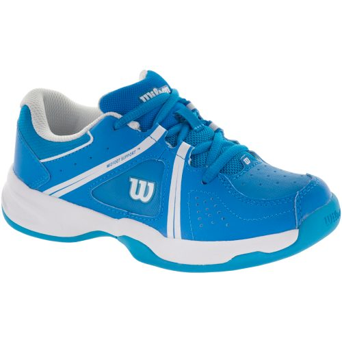 Wilson Envy Junior Methyl Blue/White 2017: Wilson Junior Tennis Shoes