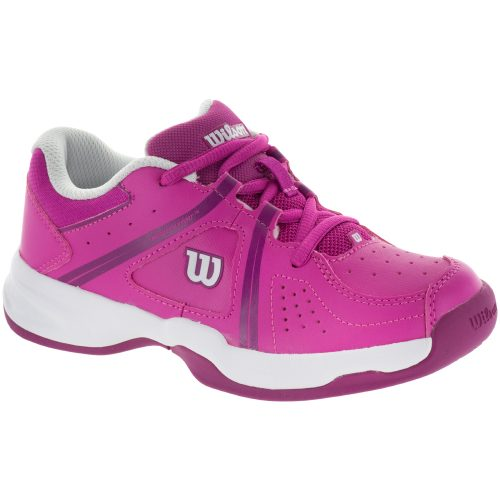 Wilson Envy Junior Rose Violet/White 2017: Wilson Junior Tennis Shoes