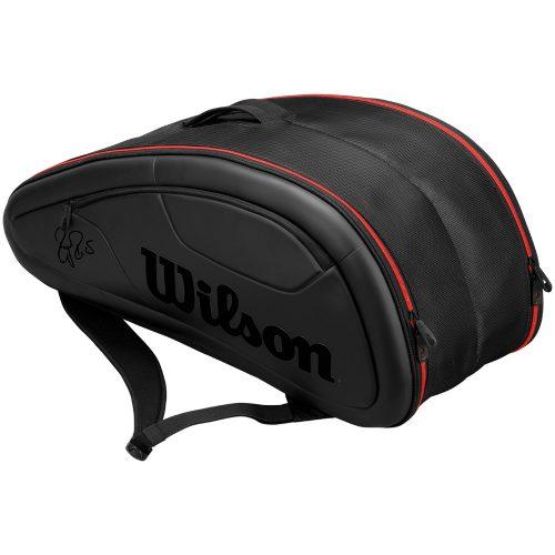 Wilson Federer DNA 12 Pack Black: Wilson Tennis Bags