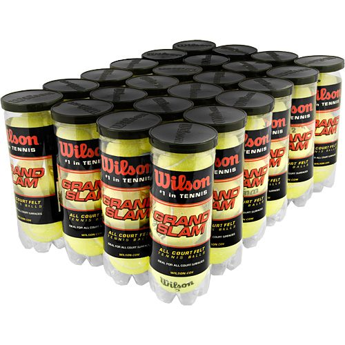 Wilson Grand Slam Extra Duty 24 Cans: Wilson Tennis Balls