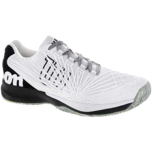 Wilson Kaos 2.0: Wilson Men's Tennis Shoes White/Black/Safety Yellow
